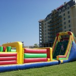 70&#039; Obstacle Course