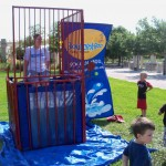 Kids dunking AMBER! Go Amber, Go Amber!